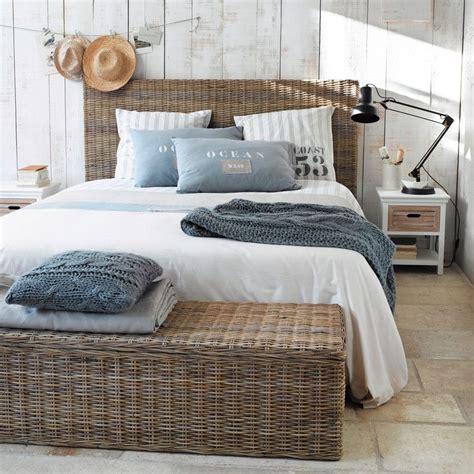 chambre ambiance mer meubles et décoration de style atlantique bord de mer