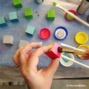 Reuse, Plastic, Lids, For, Crafting, And, Painting