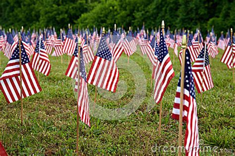 a lot of flags of a lot of american flags a lo