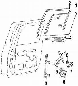 Chevrolet K2500 Window Crank Handle  Front   Crew Cab