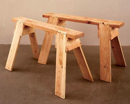 md    basics sawhorses woodworking plan woodworkersworkshop  store