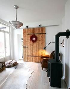 Aus Alter Stalltr Wird Neue Schiebetr Mehr Wohnzimmer