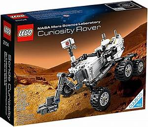 Scale Model News: MARS ON YOUR TABLETOP: LEGO CURIOSITY ...