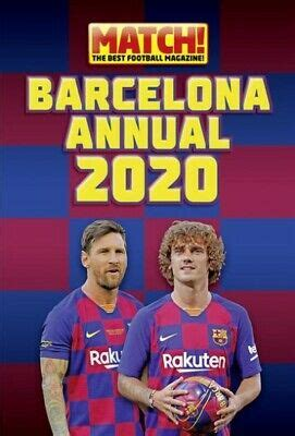 Match! Barcelona Annual 2021, Hardcover by Match! Magazine ...