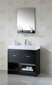 meuble vasque salle de bain petit espace en 55 idees supers With meuble salle de bain avec vasque et miroir