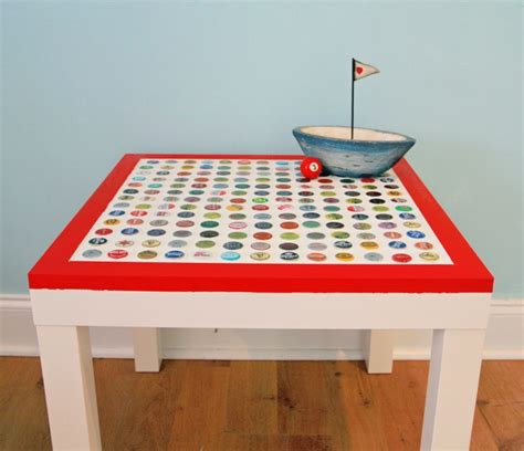 20 great diy furniture projects on a budget style motivation diy cheap and chic bottlecap table my so called crafty