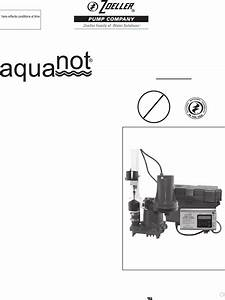 536908 1 Zoeller Aquanot 508 Brochure User Manual