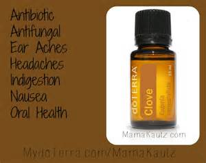 doTERRA Clove Essential Oil Uses