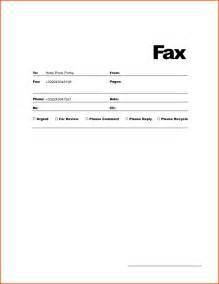 Doc 717456 Fax Cover Sheet Template Bizdoska Com