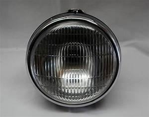Bsa Norton Triumph 7 Headlight Complete Lucas Ssu700p