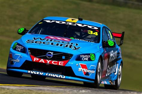 volvo quits  supercars motor