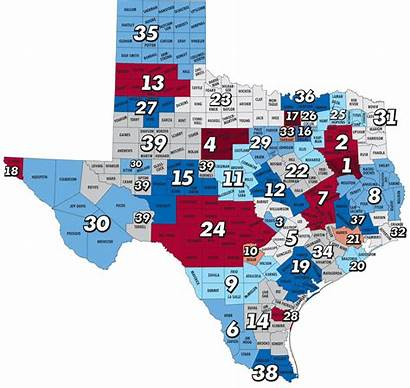 Map Texas Centers Service Community Areas Counties