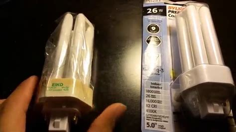 plug  compact fluorescent light cfl bulb removal youtube