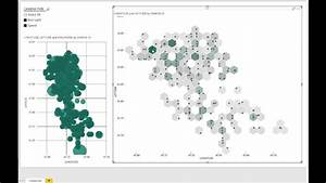How To Make A Bubble Chart Power Bi Hexbin Scatterplot Youtube