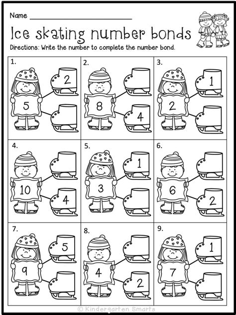 it s the most wonderful time of the year kindergarten smarts 152 | WinterMathLiteracyWorksheetsFree 768x1024