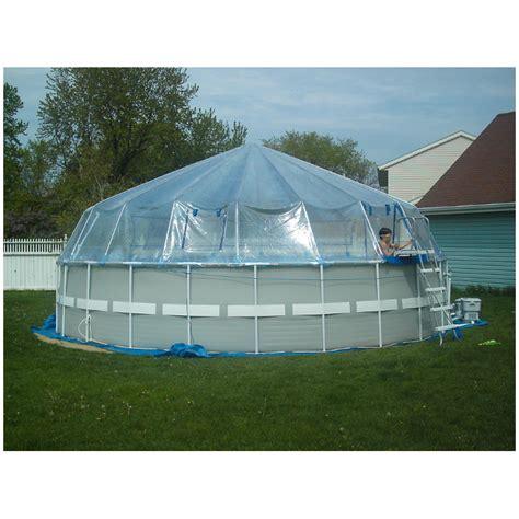 Fabrico Sun Domes  Softside  Round Poolstore