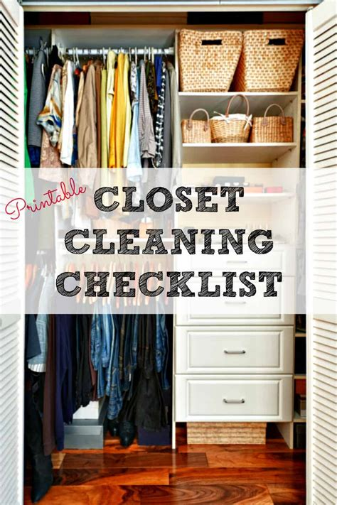 Tas Guess Cleaning Closet closet cleaning checklist get your closet clean and