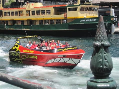 Jet Boat Circular Quay by Oz Jet Boating Boat Charters Circular Quay New South