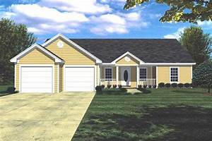 3 Bedrm, 1400 Sq Ft Country House Plan #141-1152