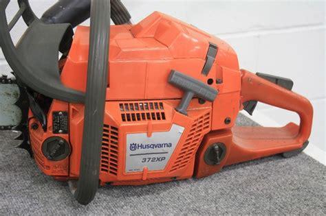 husqvarna  case hot  chainsaws  auction