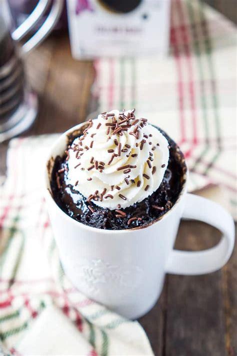 Peanut Butter & Oatmeal Mug Cake for Two