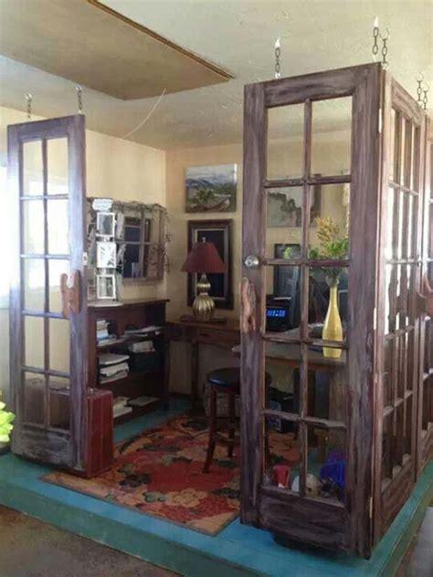 money ideas  repurpose  doors