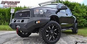Toyota Tundra Fuel Nutz D251 Wheels Matte Black  U0026 Milled