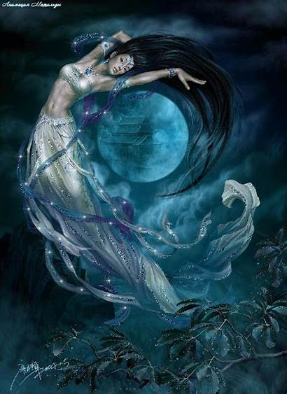 Fantasy Woman Moon Lovethispic