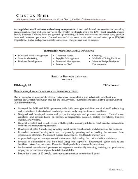 Resume Continued On Next Page by Cdb Resume 3 Page Update