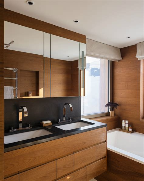 Contemporary Kitchens With Attention To Detail by Stylish Contemporary Chalet In Switzerland With Attention