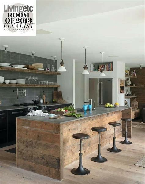 Rustic Industrial Interior Design Exles by Rustic Industrial Style Kitchen For The Home