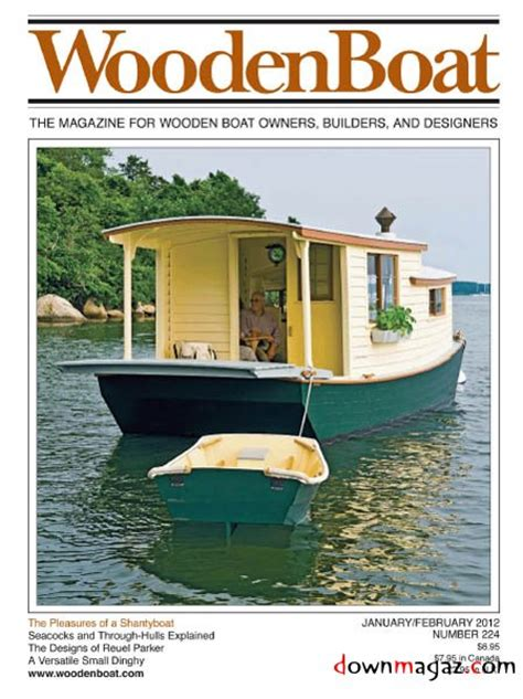 Boat Building Magazine by Wooden Boat January February 2012 187 Pdf