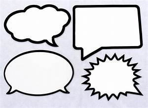 speech bubble template printable With photo booth speech bubble template