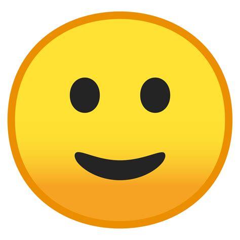 foto de File:Noto Emoji Oreo 1f642 svg Wikimedia Commons