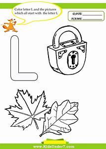 Letter L Worksheets For Kinder 1000 Images About Letter