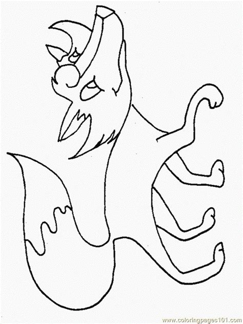 coloriage renard  imprimer pour les enfants cp