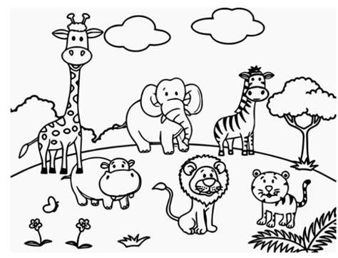 40 gambar mewarnai untuk anak