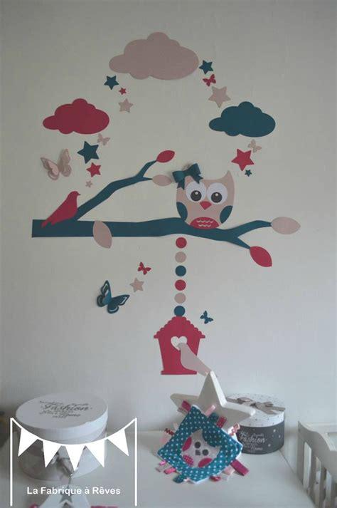 d oration chambre décoration chambre bébé et linge de lit hibou chouette