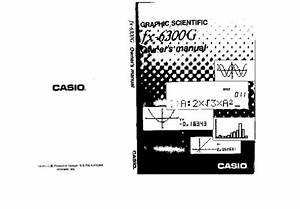 Casio -- Fx-6300g
