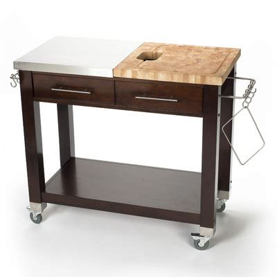 stainless steel kitchen island with butcher block top 6 best butcher block kitchen islands 1000 wood