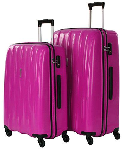american tourist koffer american tourister by samsonite waverider valigia a 4 ruote set di 2 lollipop pink valigie e