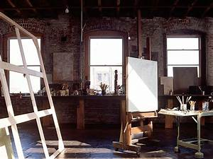 Amazing worked in and lived in artist lofts   Decorology