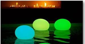 Lampe De Piscine : lampe piscine led flatball par aquagyms ~ Premium-room.com Idées de Décoration