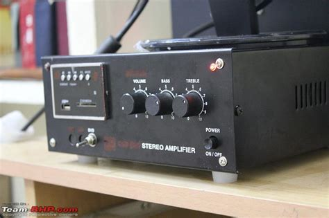 Assembled Home Audio Rig With Stk Amp Fostex