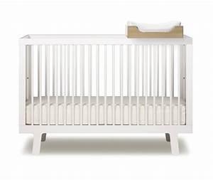 Lit Bebe Blanc : lit b b volutif sparrow blanc oeuf nyc pour chambre enfant les enfants du design ~ Teatrodelosmanantiales.com Idées de Décoration