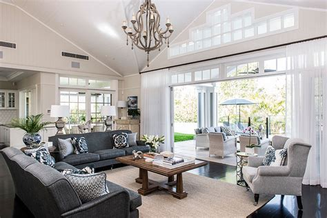 relaxed tropical queensland htons style home coastal