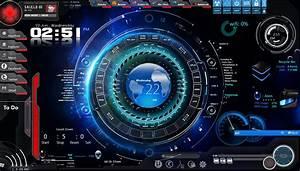Hi tech Space OS by abhishek1410 on DeviantArt
