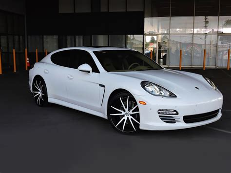 white porsche white on white porsche panamera by wheel service