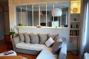 creation d39une verriere chambre salon aurore pannier With meuble bar design contemporain 13 chambre enfant mixte with classique chambre denfant
