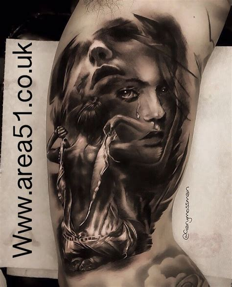area  mollet tatouage tatouage visage femme